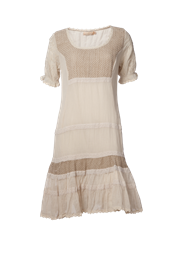 Kortærmet kjole