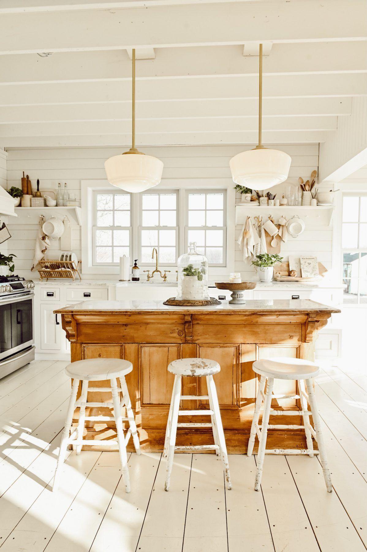 cozy winter kitchen in 2020 | cozy kitchen, kitchen