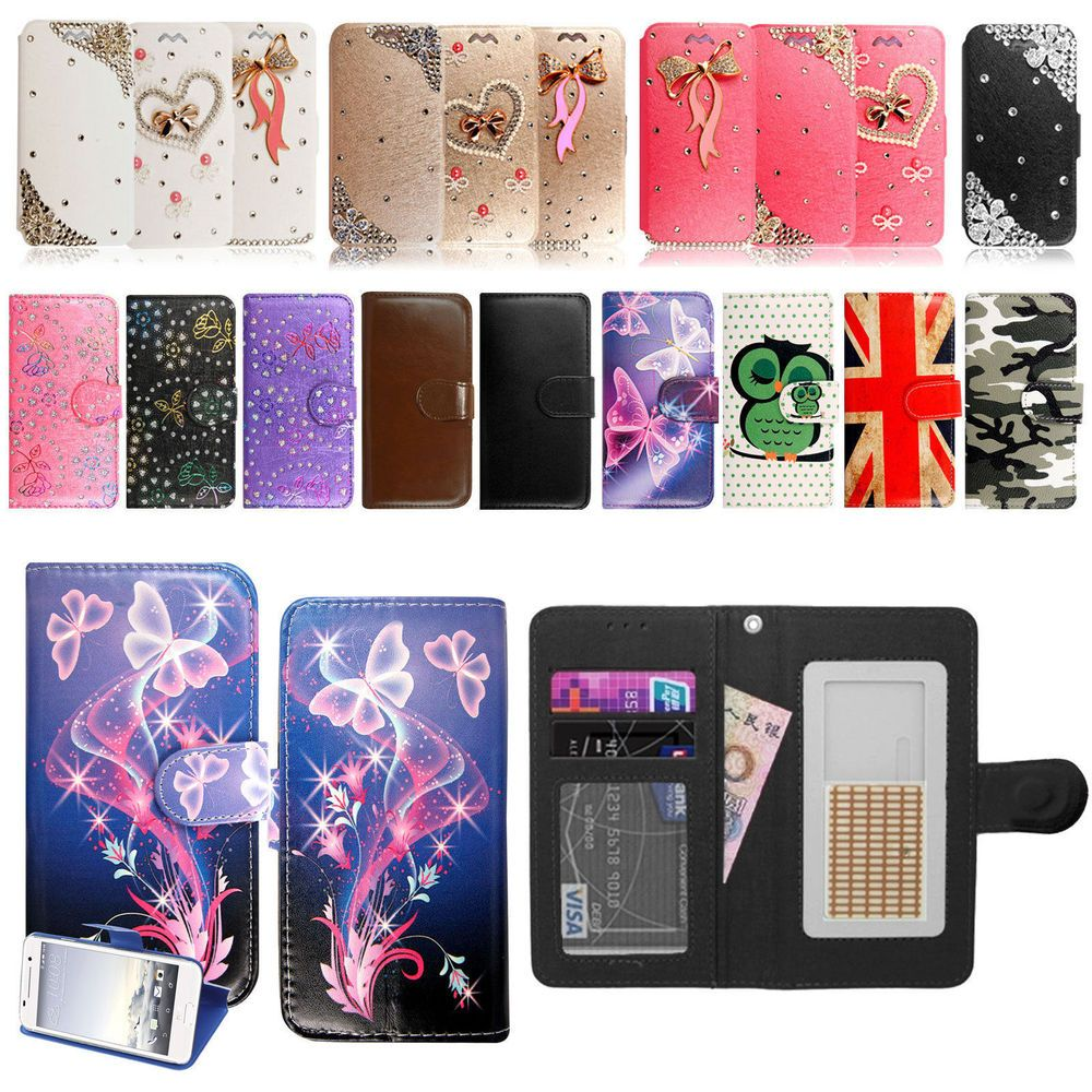 Pro 3 tablet sleeve case slim wallet pu leather protective skin pouch - New Wallet Flip Pu Leather Case Cover Pouch For Huawei Y5 Y3 Y6 Ii Universal