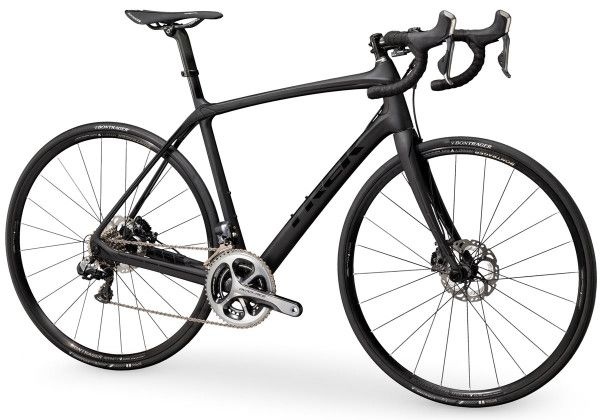 New Trek Domane Disc Brake Endurance Road Bike Debuts W New Bontrager Affinity Wheels Trek Road Bikes Trek Bicycle Road Bikes