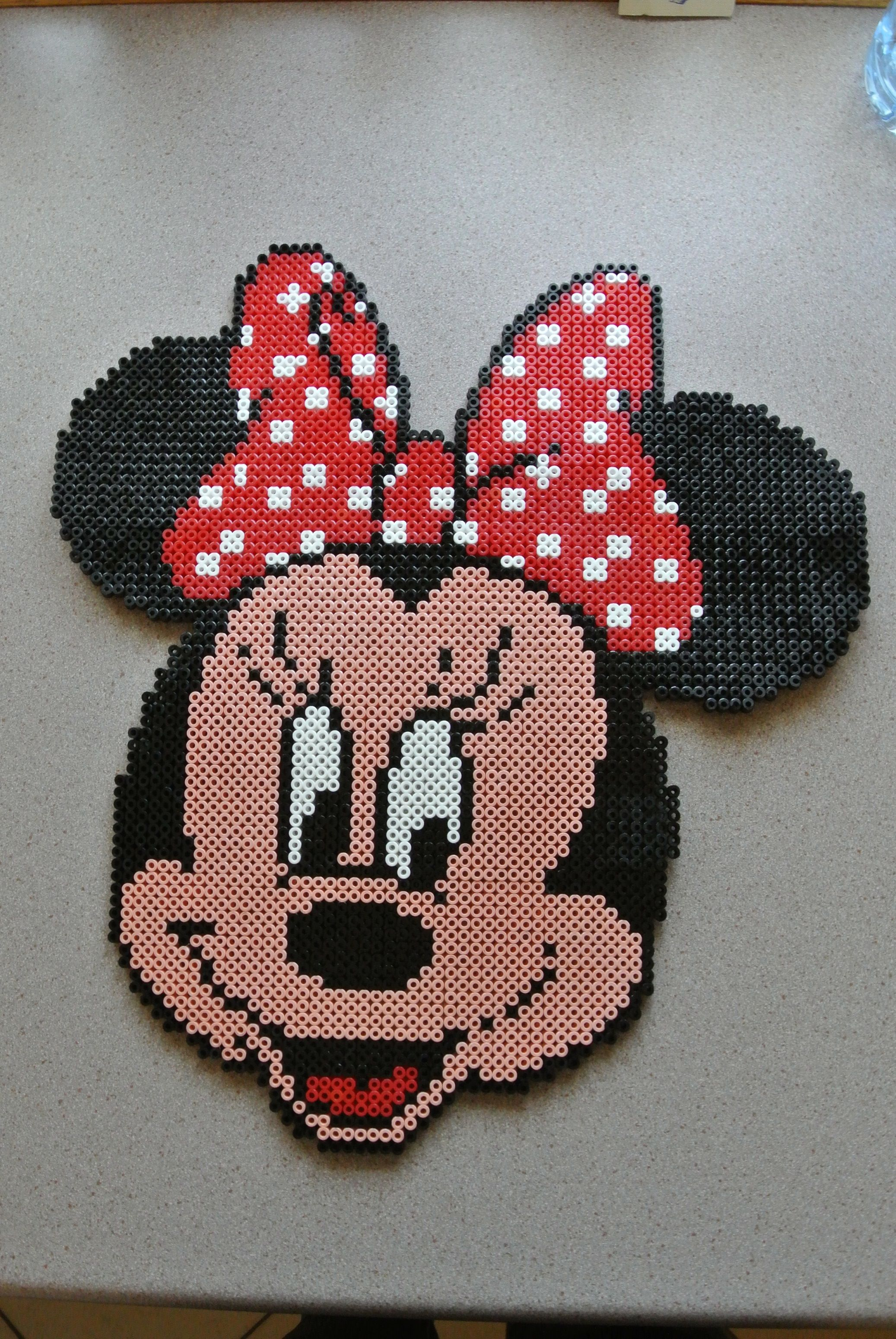 Minnie Mouse Hama Perler Beads By Taxie25 Bügelperlen