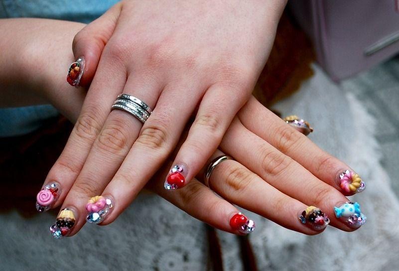 Japanese Nail Art Inspiration 08 | Nails | Pinterest | Japanese nail ...