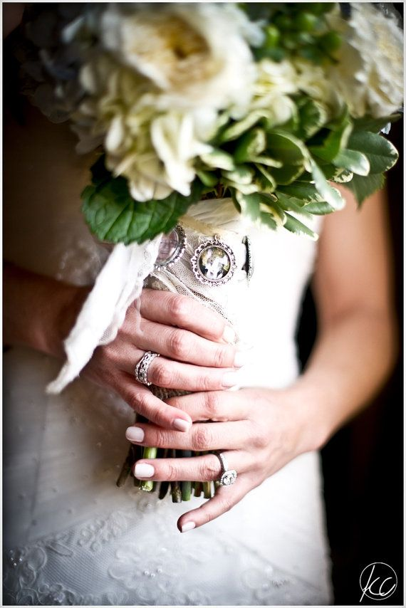 5 Wedding Bouquet Charm Kit Photo Pendants By Weddingbouquetcharms 15 95