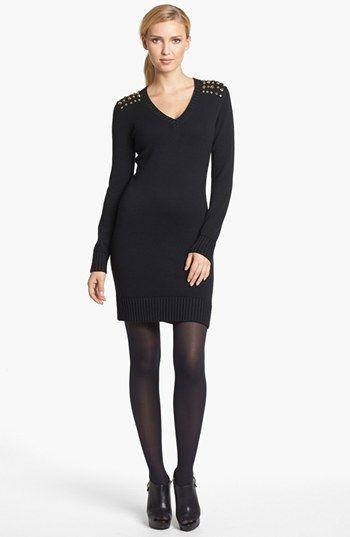 d3c7b8c35b4 MICHAEL Michael Kors  Astor  Studded Sweater Dress