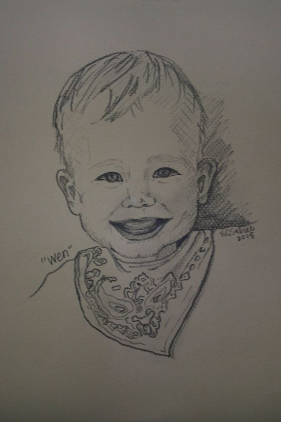 Order your Custom Portrait by EmilyCateSabree on Etsy
