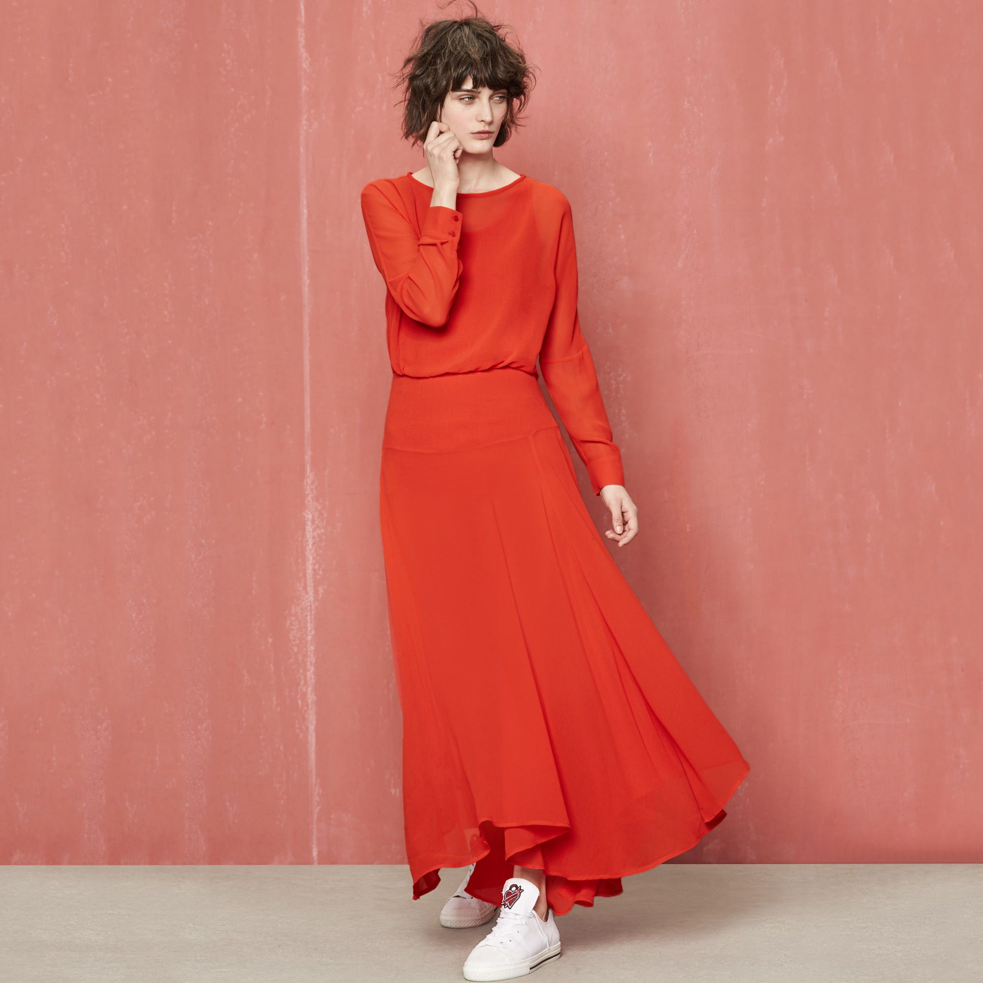 RED Collection Maje | Robe longue, Robe, Idées