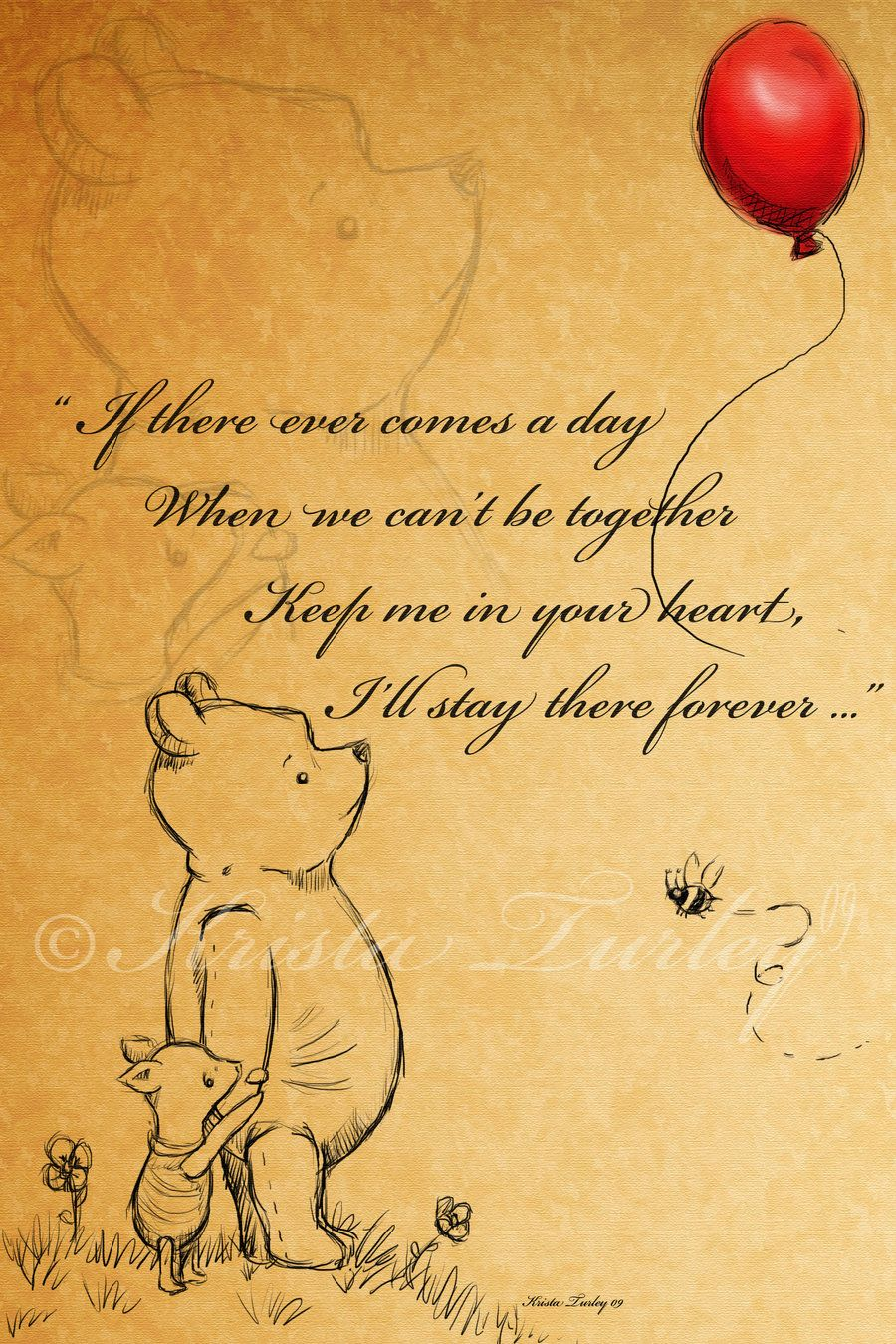 Pooh Love Quotes Classic Winnie The Pooh Quotes  Keep Your Heart Kiekari