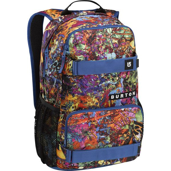 #Burton Treble Yell Borna Print #Skate #Backpack #Zumiez