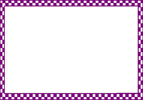 Free Frames and borders png | Checker Border Frame clip art - vector ...