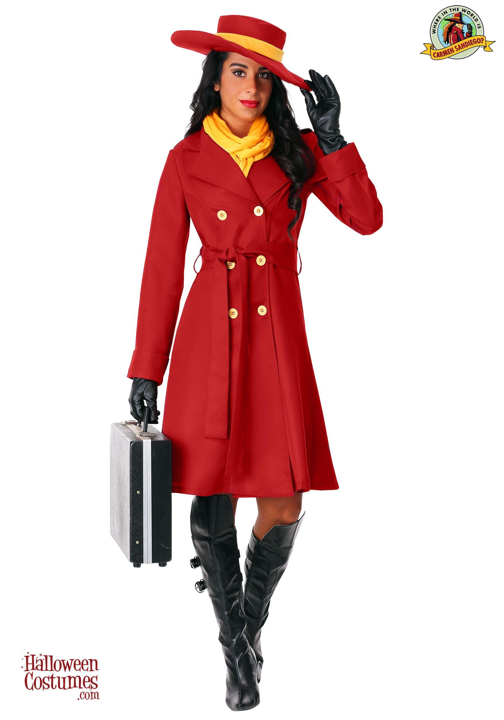 Carmen Sandiego Women S Costume Exclusive Halloween In
