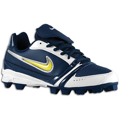 softball cleats in navy blue for woman | Nike Diamond FP \u2013 Womens Softball  Cleats