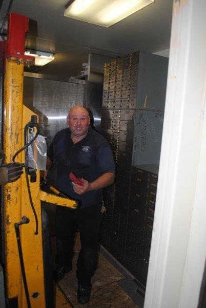 Repairing the U.S. Napa Bank Branch