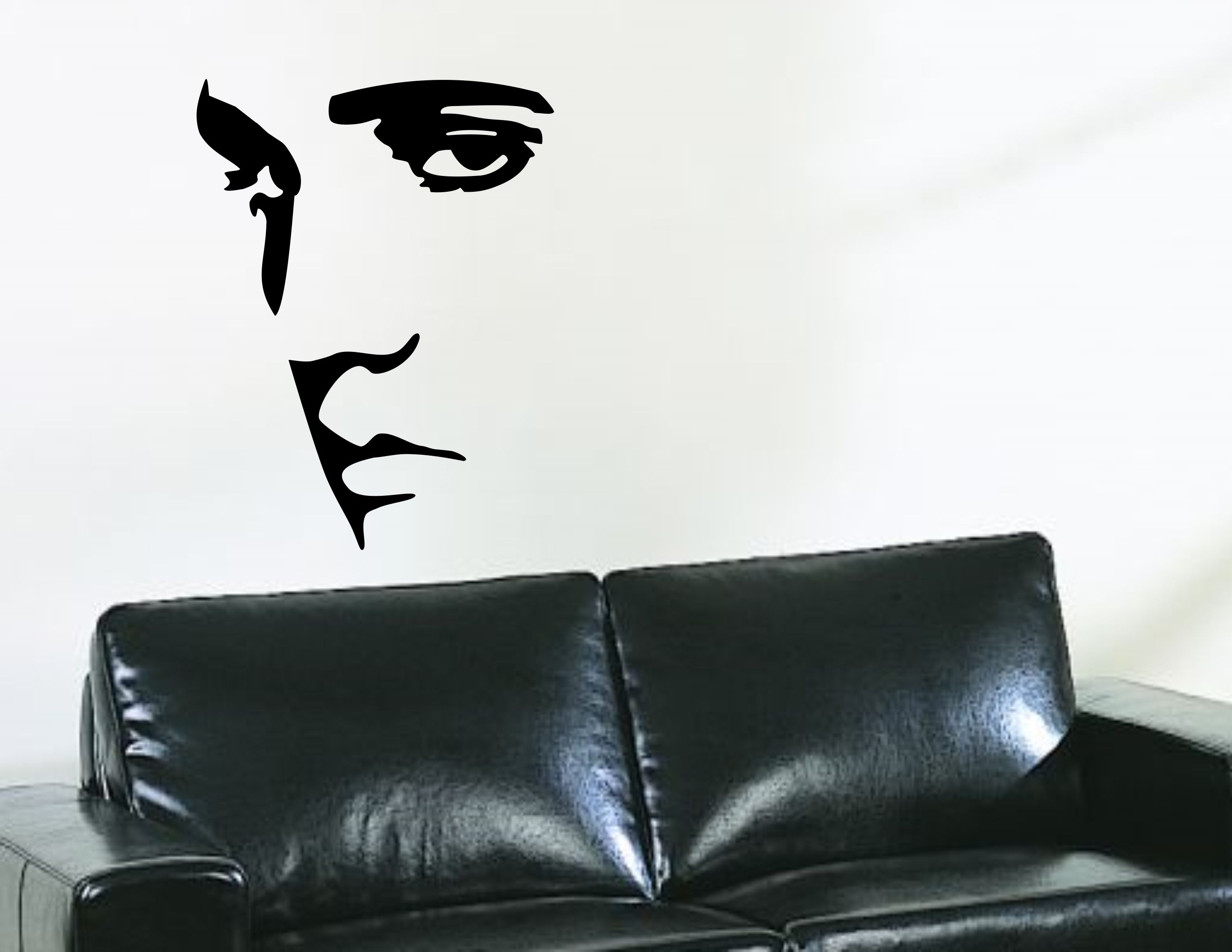 Large elvis presley wall decal vinyl sticker silhouette wall art large elvis presley wall decal vinyl sticker silhouette wall art mural from wallcrafters on etsy amipublicfo Image collections