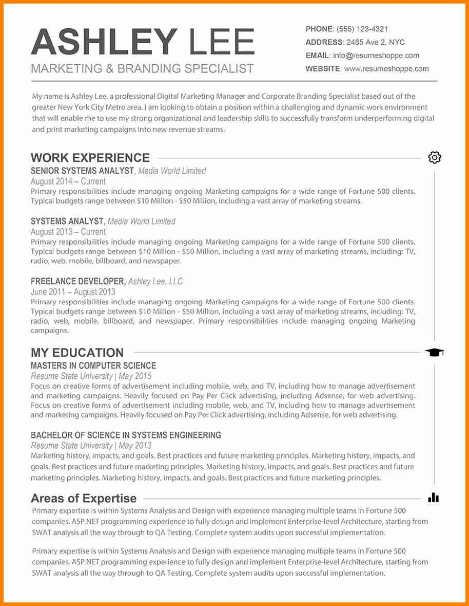Resume Format Best Practices 2 Resume Format Pinterest Resume