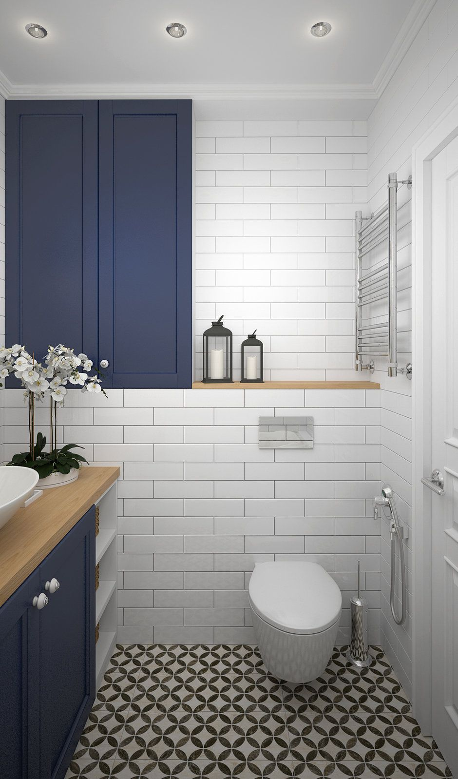 Some Design Ideas To Decorate Your Small Bathroom Idee Salle De