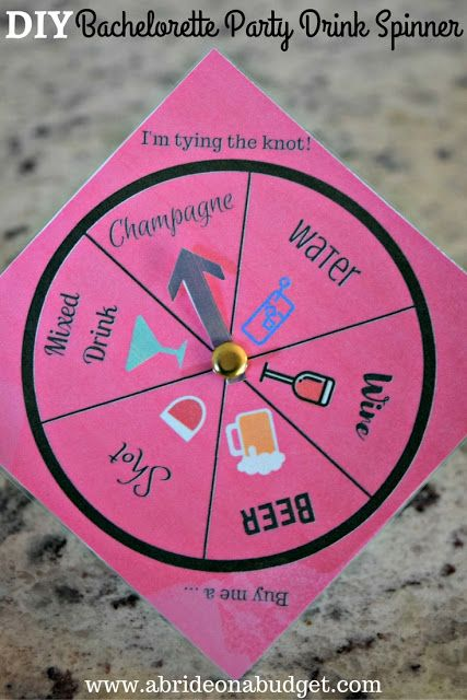 7894d537b934 msg 4 21+  Planning a bachelorette party  Make it even more fun with games!  Get a free printable for this bachelorette party spinner from ...