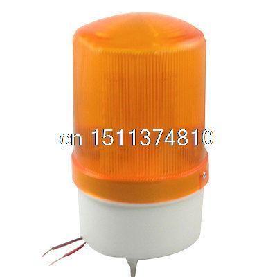 Dc 24v Industrial Buzzer Siren Yellow Led Flash Warning Light Signal Tower Lamp Indicator Lights Warning Lights Buzzer