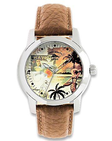 Dad Hawaiian Palms Watch $115.00
