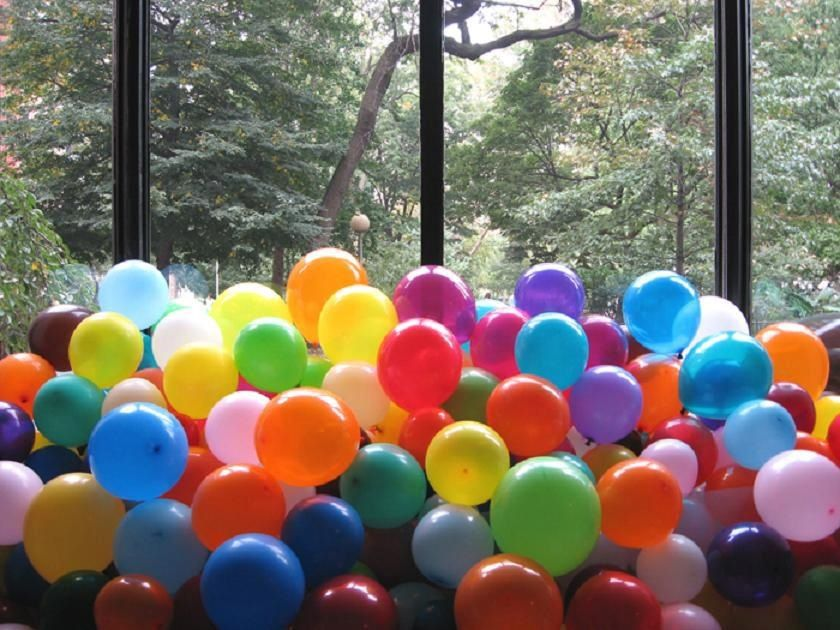 Balloons... one of the most enjoyable things on earth.