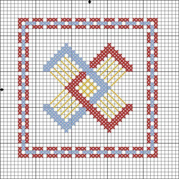 Вышивка крестом семейный оберег схема вышивки