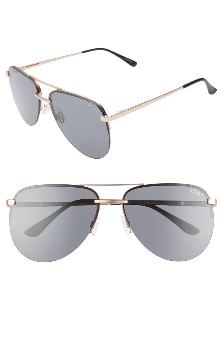 9b60ef84dca95 Quay Australia x JLO The Playa 54mm Aviator Sunglasses