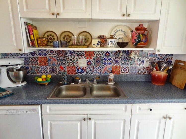 Bleucoin Tile Decal Backsplash Decorative Backsplash Tile Decals Kitchen Stickers