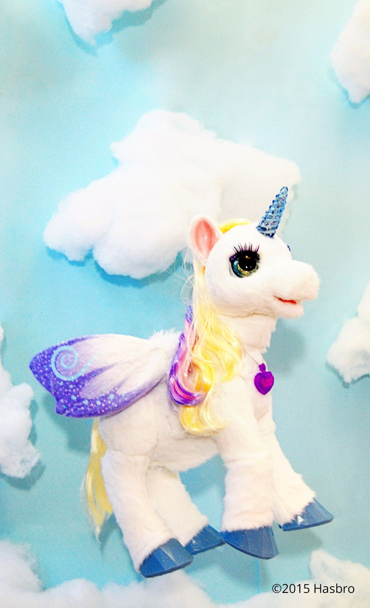 StarLily My Magic Unicorn + winter = the perfect afternoon