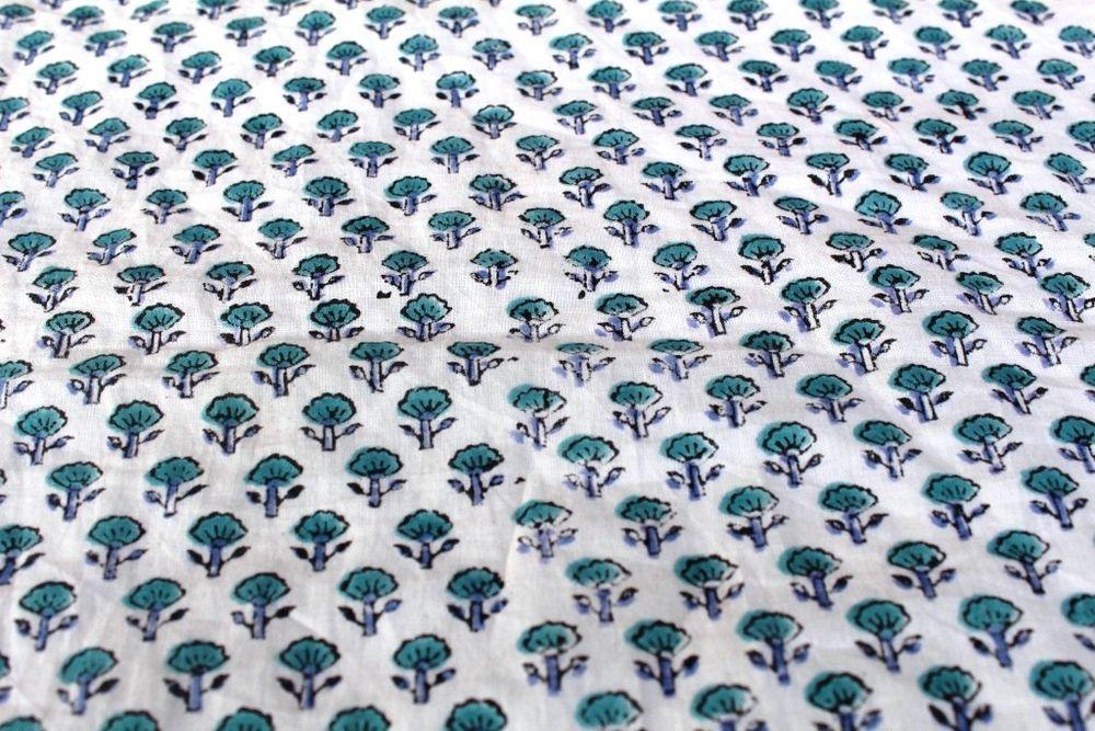 100/%Cotton Fabric Dress Material Fabric,Handblock Fabric Dot Print Fabric 10 Yard Handblock Fabric
