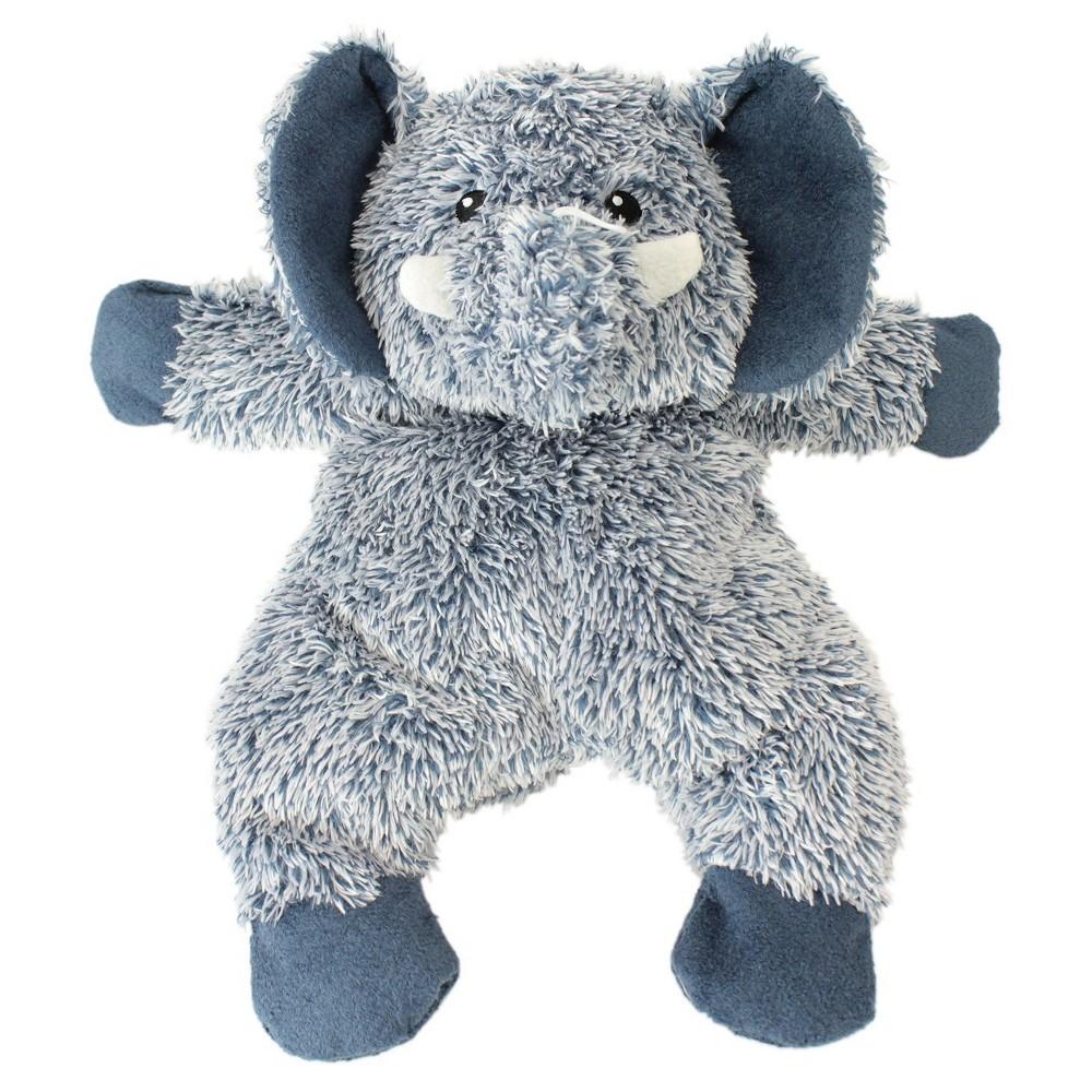 Cuddle Toss Elephant Pet Toy Large Blue Boots Barkley