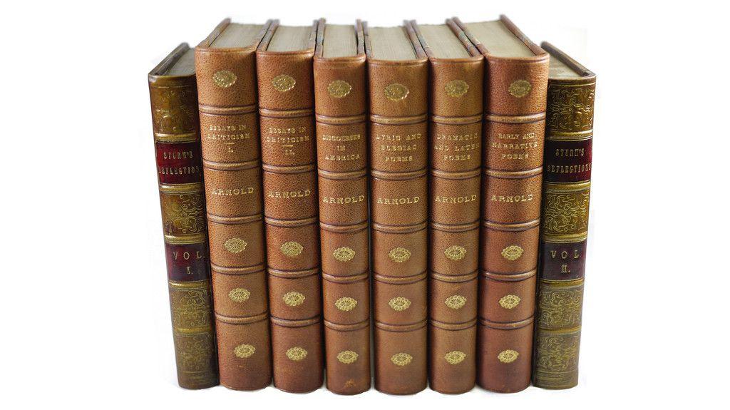 Small Faux Book Bookends Scriptum