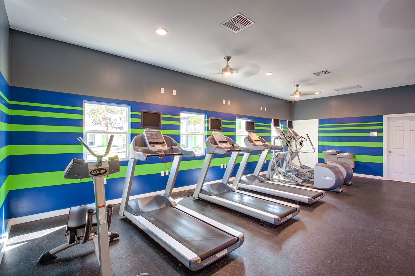 Come get your sweat on in our newly renovated fitness