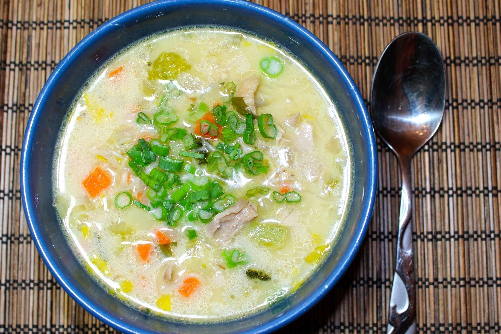 Keto Paleo Sopas Filipino Chicken Noodle Soup Recipe