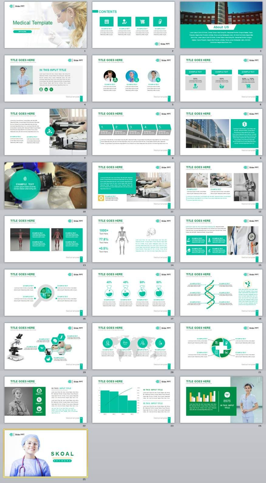 25+ Best medical industry PowerPoint templates | Medical, Template ...