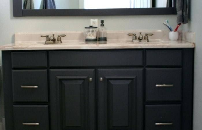 bathroom ideas with oak cabinets with images  painting