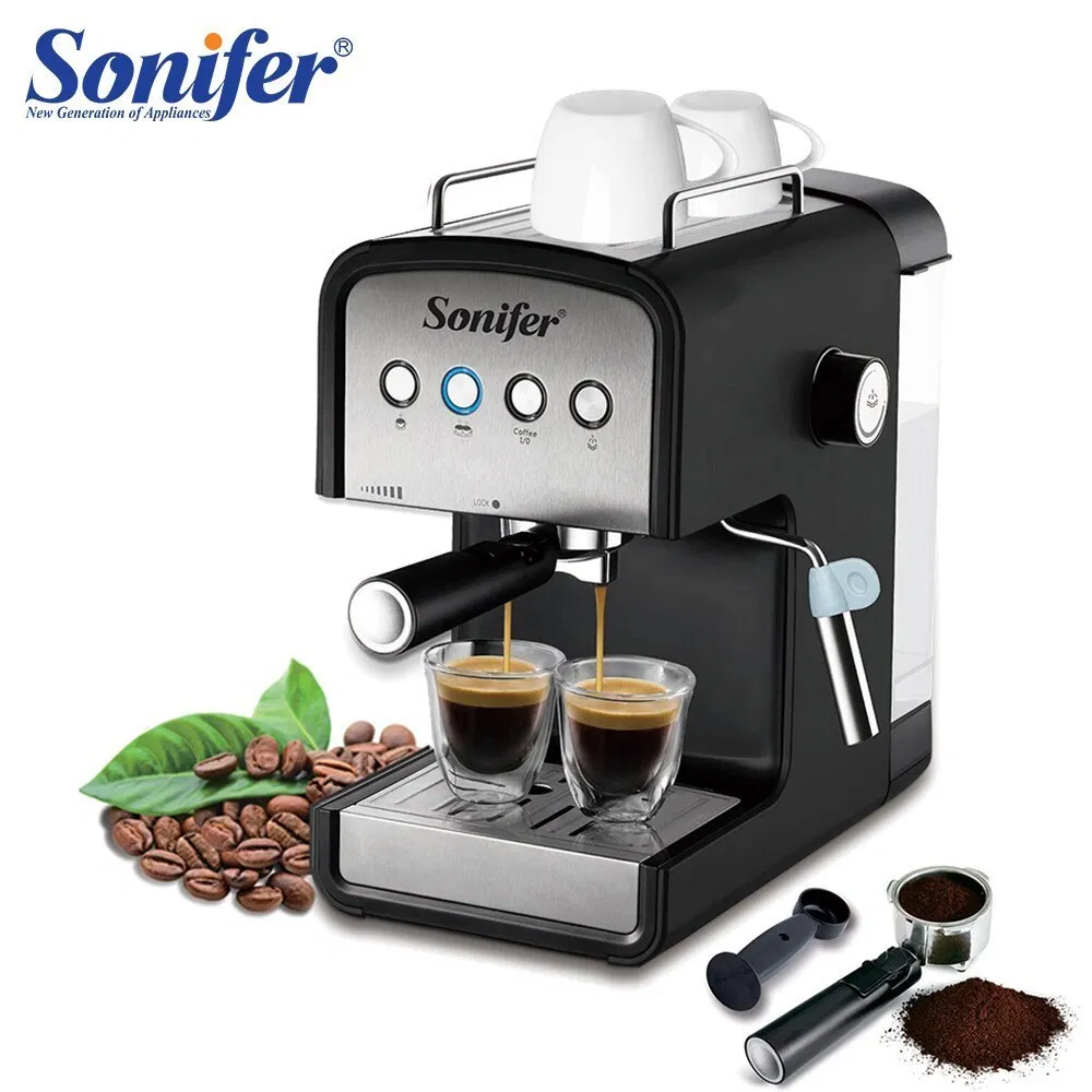 1 2l Espresso Electric Coffee Machine Foam 15 Bar High Quality