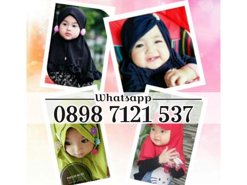 Wa 0898 7121 537 Grosir Jilbab Bayi Delima Bayi Anak Doraemon