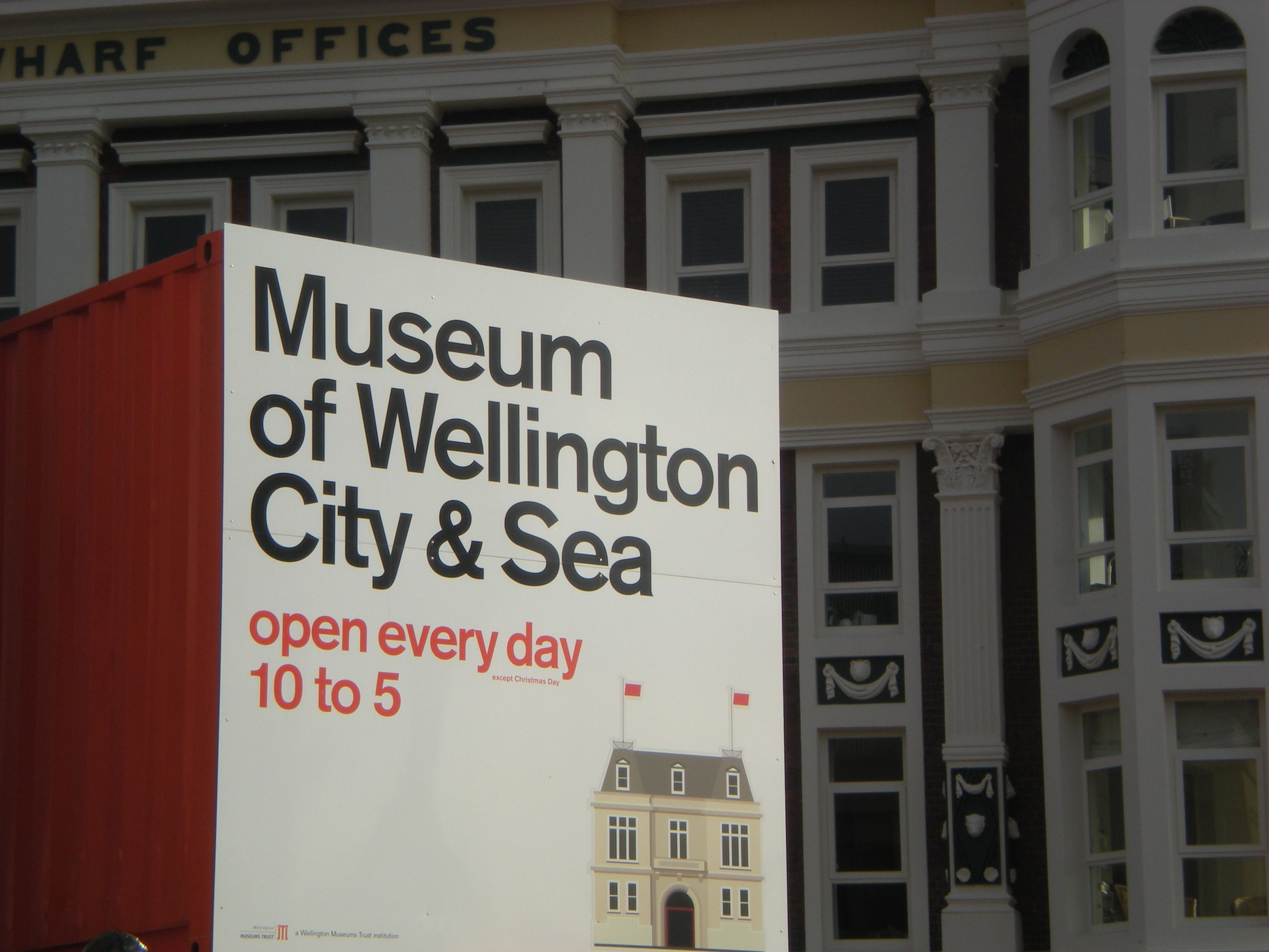 Wellington Museum of City and Sea