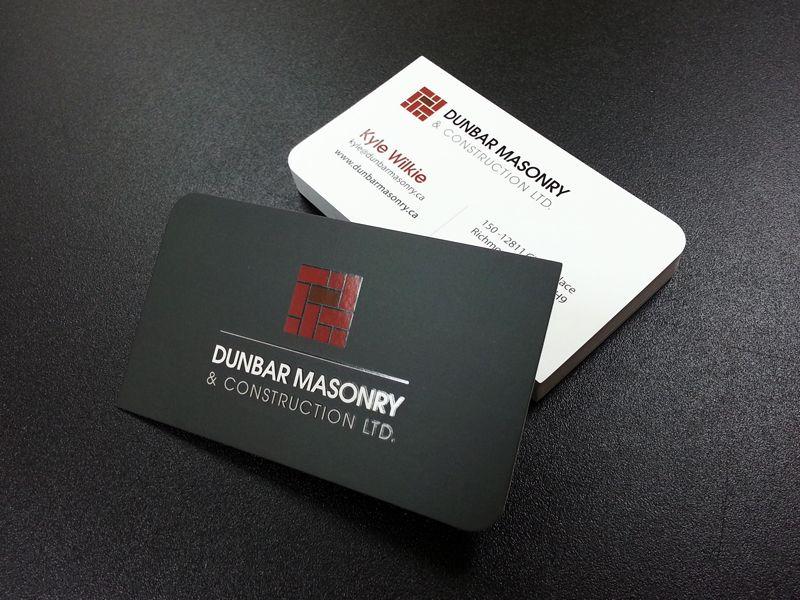 16pt Silk Laminated Business Card W Spot Uv Www Finoprint Com Spot Uv Business Cards Cards Laminated Business Cards