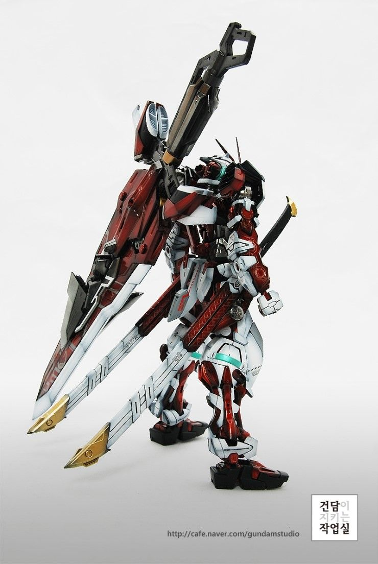 [MG] ASTRAY RED FRAME by Smong guitar - Master modelers' community Signaturedition.com