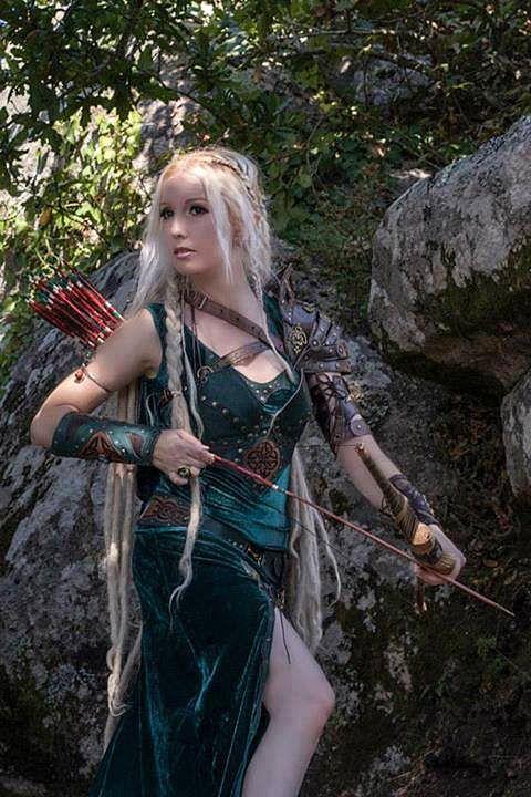 elf celtic archer elves of the woodlands pinterest. Black Bedroom Furniture Sets. Home Design Ideas