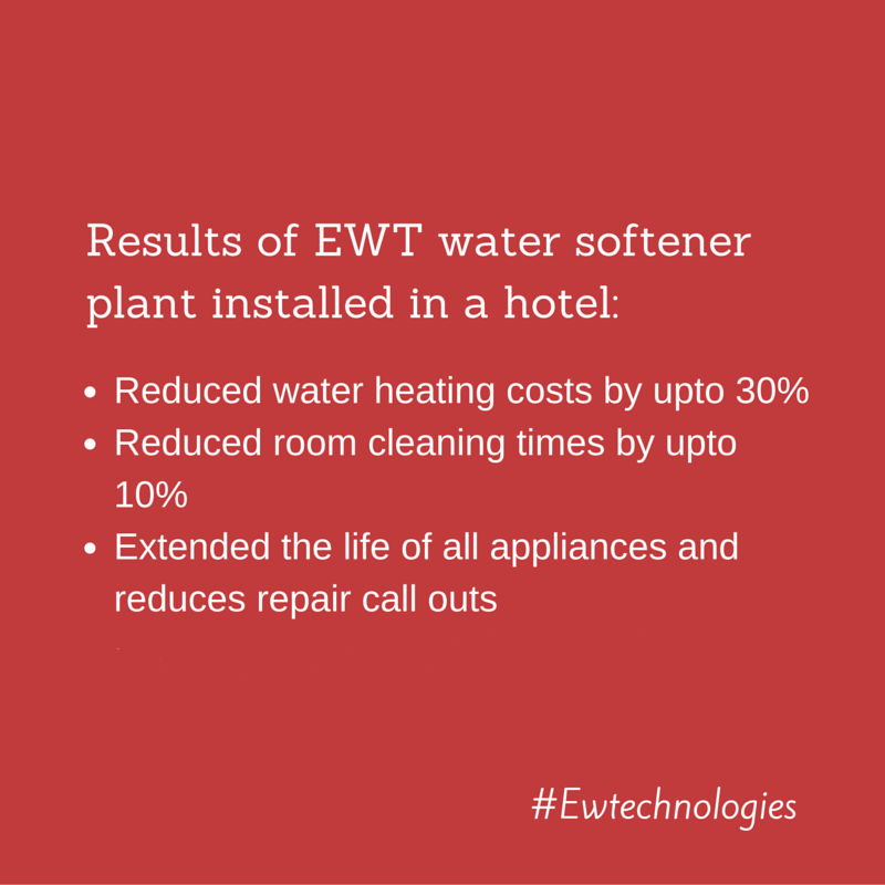 Ewt Water Softener Plant Installed In Hotel Estimated Payback 16 Months Water Treatment Water Softener Water
