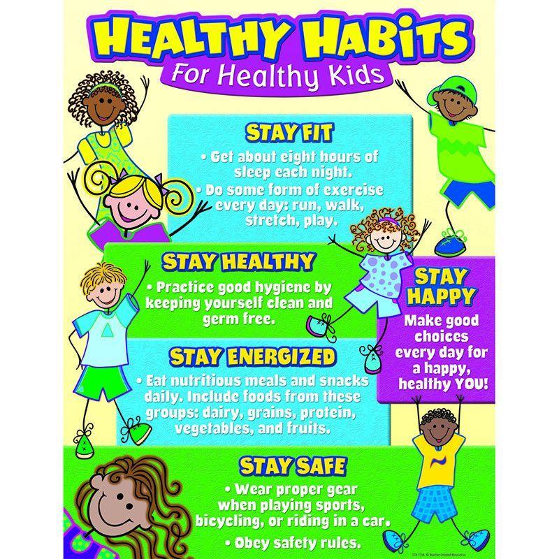 HEALTHY HABITS FOR HEALTHY KIDS Healthy kids, Healthy
