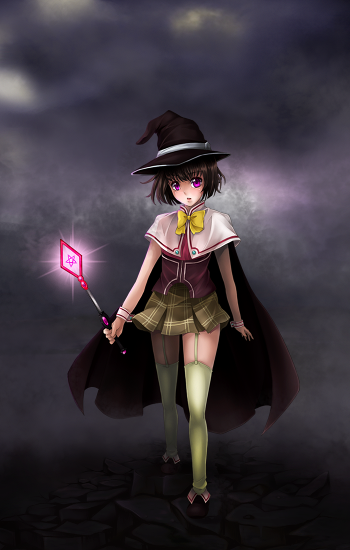 Yukari Sendo Witch Wallpaper by weissdrum on DeviantArt