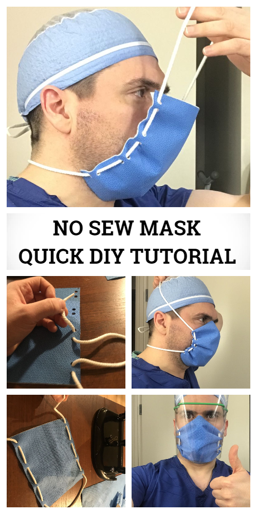 Photo of Low Cost Face Shield & Mask DIY Tutorial + Video | Fabric Art DIY
