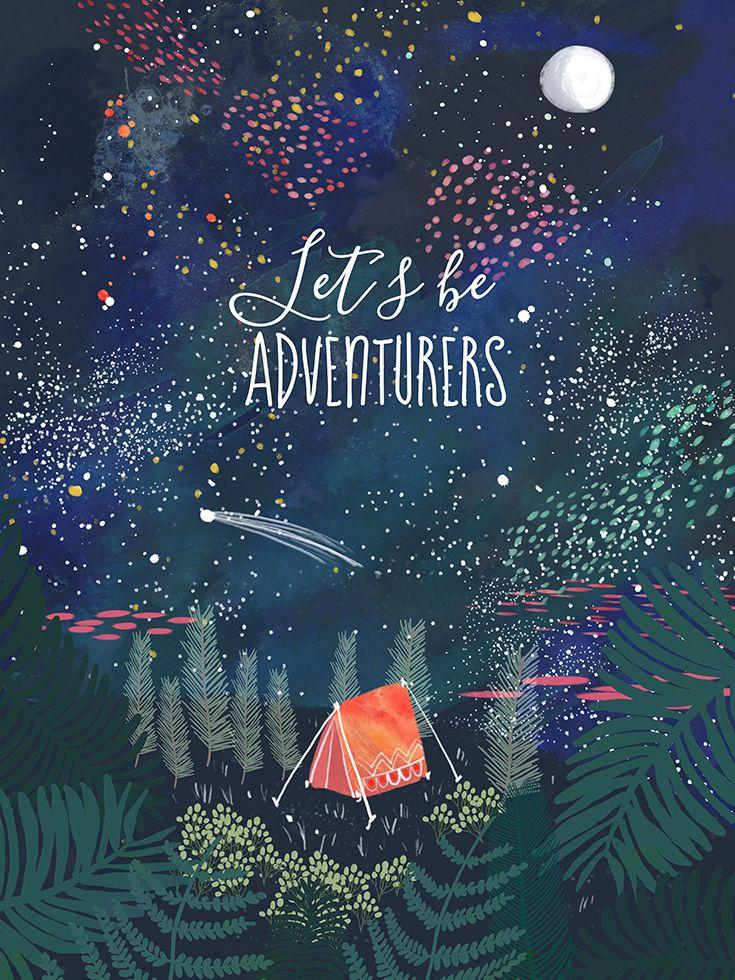 søde sommer citater let´s be adventurers 72 | Au mur | Pinterest | Citater, Eventyr  søde sommer citater