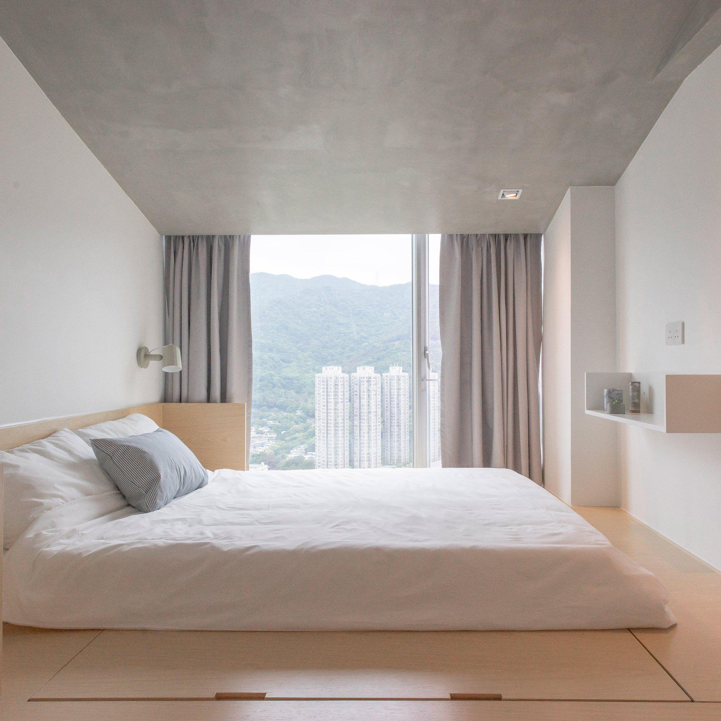 MINIMALIST BEDROOM Hong Kong Hi Rise