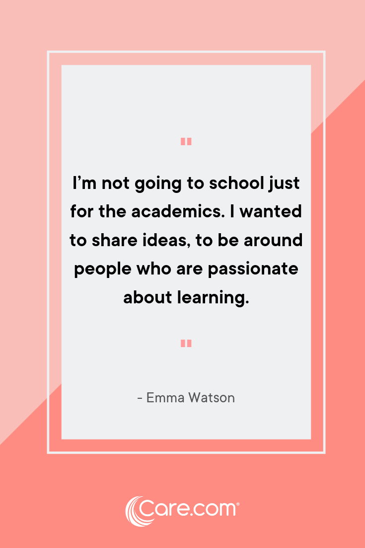 18 inspiring back-to-school quotes to live by