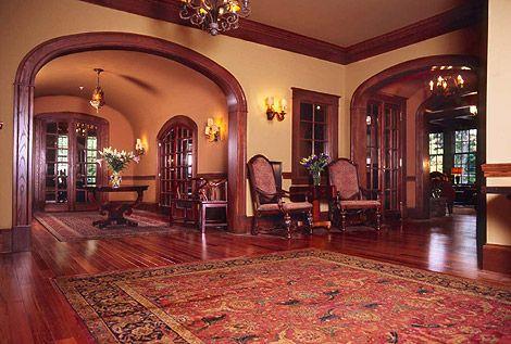 Carpet color. Wall color. english tudor interiors | Take a virtual ...