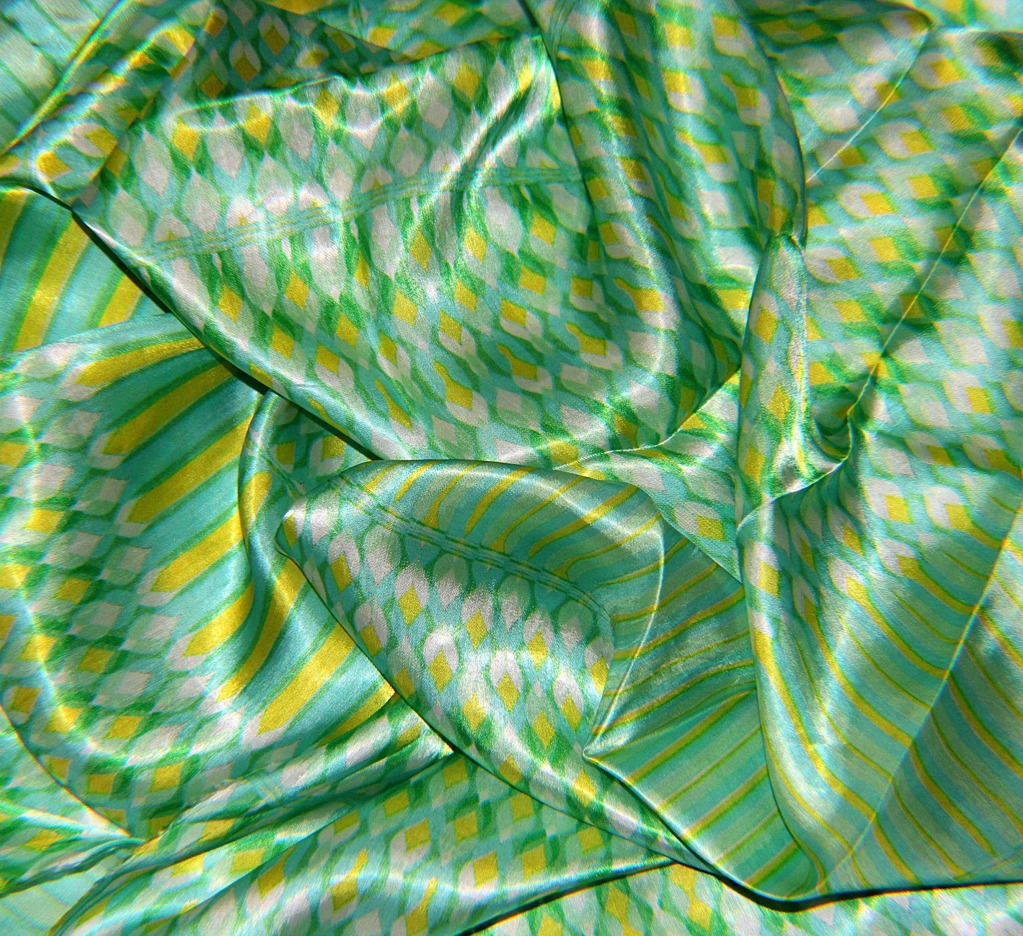 Silk fabric - satin digital printed