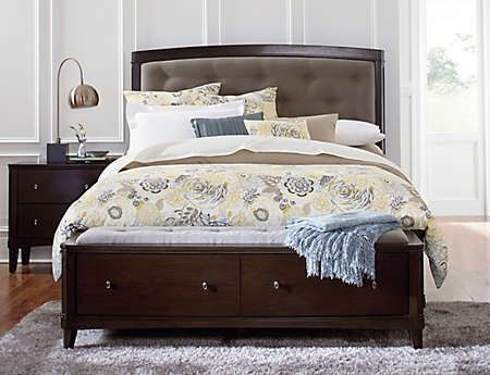 Best Novara Queen Upholstered Bed Art Van Furniture 400 x 300